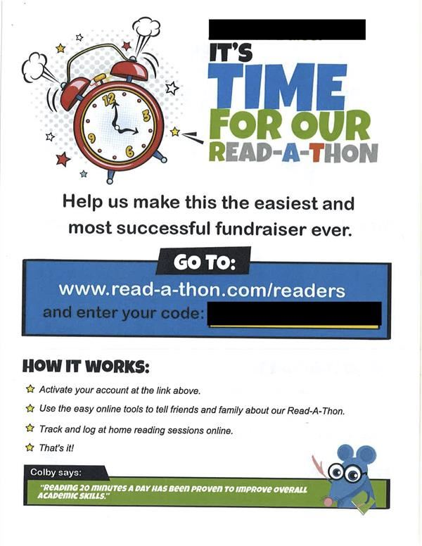 The Read-A-Thon and Much More!