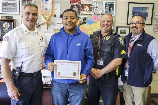 Student Saves Fellow Student's Life by Performing the Heimlich Inside MHS Classroom
