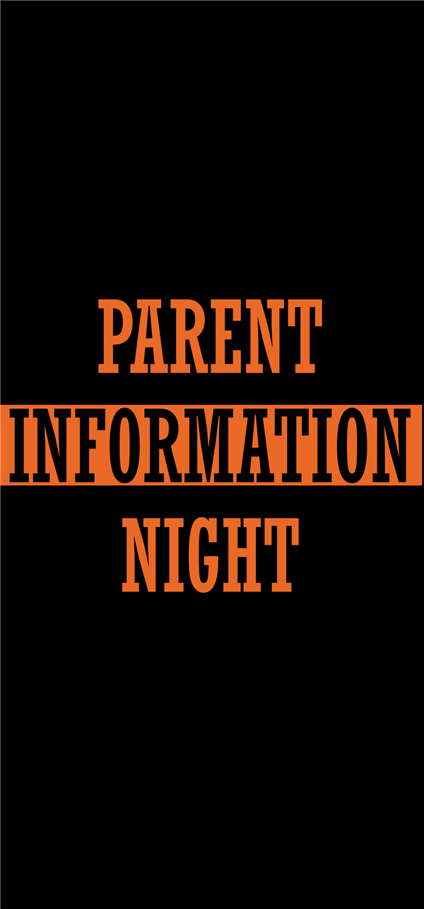 Informational Parents Night
