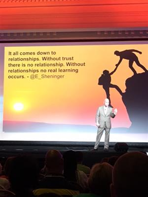 Without relationships no real learning occurs