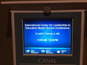 International Center for Leadership in Education Model School Conference