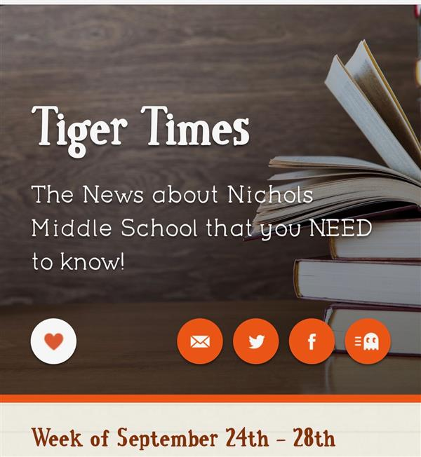 Tiger Times is Out!