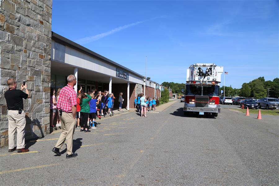 Photo/Video Gallery / Student Wins Ride on Firetruck 2018